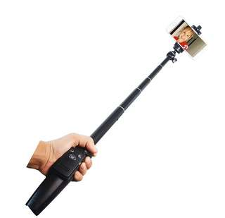 Brand new wireless remote extendable selfie stick Monopod Tripod phone stand Holder mount for iPhone Samsung Android