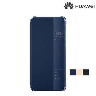 HUAWEI P20 Pro HUAWEI Original 原裝智能視窗翻蓋保護殼 翻頁皮套Case 0414A