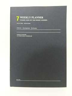 國直送] Monthly / Weekly Scheduler 計劃本 記事本 Schedule Book