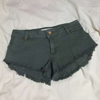 BNEW: Cotton On Army Green Denim Shorts