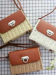 Native Rattan Bags
