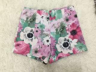 floral highwaist pants