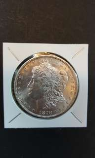 U.S Morgan silver Dollar. Year 1878.