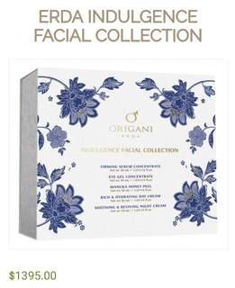 Origani Erda Indulgence Facial Collection (BNIB)