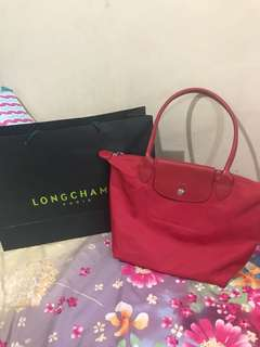 Authentic Longchamp Red