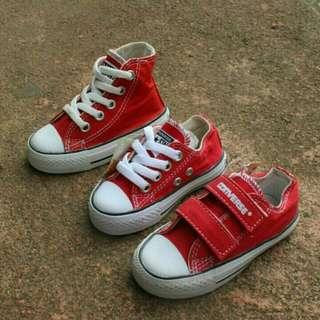 New yaaa.. sepatu converse anak