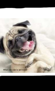 When are your last aircon servicing???