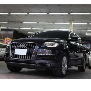 FB搜尋【阿彥嚴選認證車-Yencar】'12年Audi Q7 TDI 全景天窗 、進口車、可全貸、中古車、二手車