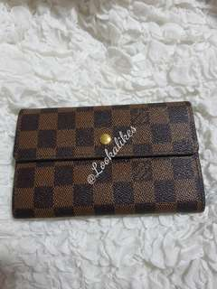 REPLICA DAMIER TWO FOLD WALLET