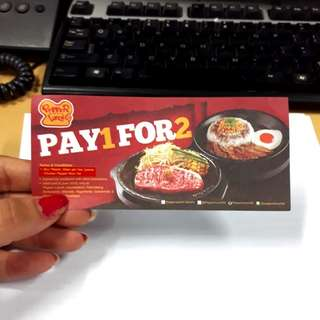 Jual Rugi Voucher Pepper Lunch