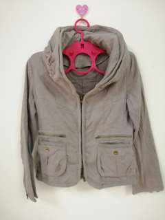 Jacket B.R.U.S.H kanak-kanak&hooded