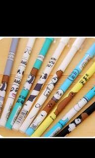 We Bare Bear Pens