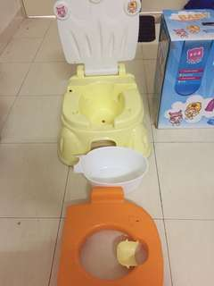 Baby closestool potty training