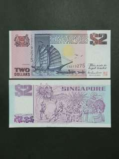 Singapore Ship Series 2 Dollars 🇸🇬 !!!