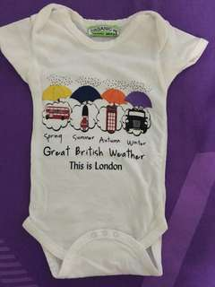Baby Romper London Great British