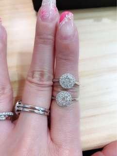 母親節優惠 天然鑽石戒指 共0.41ct $2800