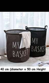 FREE POS cotton laundry basket