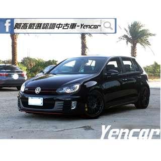 FB搜尋【阿彥嚴選認證車-Yencar】'11年福斯 GTI 小鋼炮 黑 、進口車、可全貸、中古車、二手車