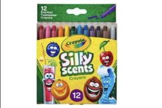 Crayola Silly Scents-Crayon Mini Twistable 12 ct