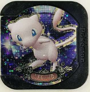 Pokemon Tretta  V8  LAGEND MEW condition 8/10