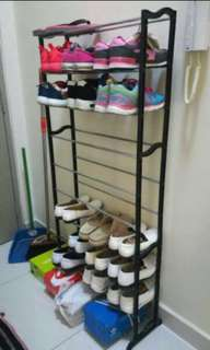 FREE POS 10 tier Shoe / scarf rack