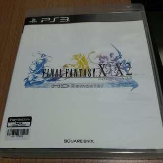 PS3 FINAL FANTASY X X2 行貨日文版