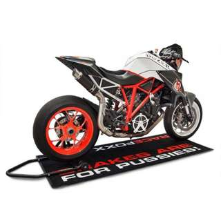 BODIS Exhaust for KTM 1290 SUPER DUKE R 2014-2016 GP1-RS RaceFoxx-Edition Stainless Steel Black (LTA APPROVED)
