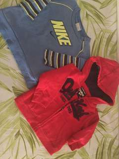 Oshkosh and Nike authentic