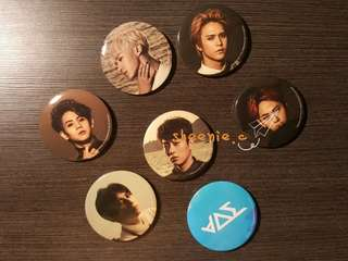 BEAST Time Pin Button SET