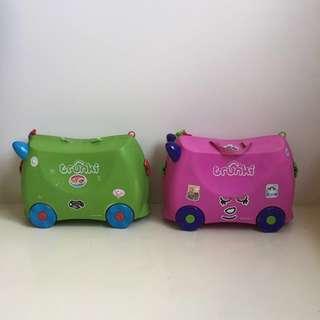 Trunki ride - on suitcase