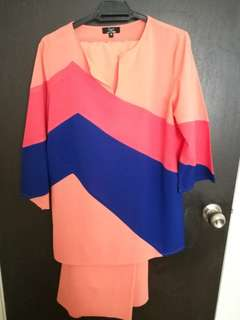 Baju kurung Luxe by Ethnic Chic size M (free post to WM)