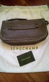 REPRICED! Authentic LONGCHAMP 3D Leather Zip Pouch