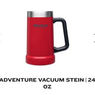 Bnew Original Stanley Adventure Vacuum Stein Mug 24oz RED