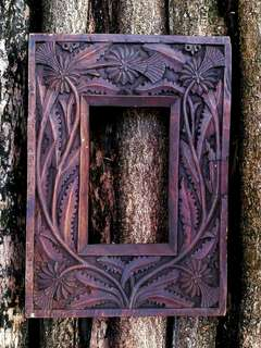 CAPTIVATING BALINESE HAND CARVED FRAME
