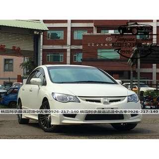 【FB搜尋桃園阿承】本田 超人氣CIVIC K12 2011年 2.0 白色  二手車 中古車