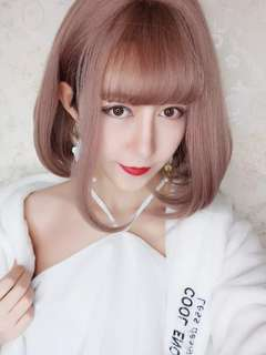 Instock Korean Wave Wig Faux Fake Hair