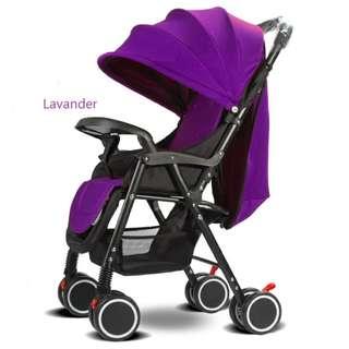 Portable infant deluxe stroller folding aluminum alloy #518s