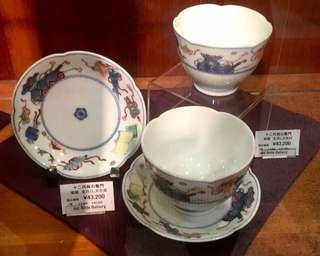 看看日本三大瓷器名家的價格