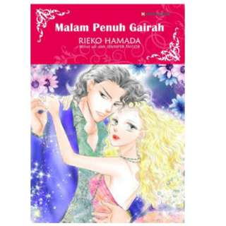 Ebook Malam Penuh Gairah (Spanish Night) - Reiko Hamada