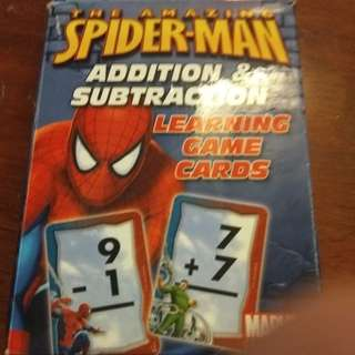 Learning game cards