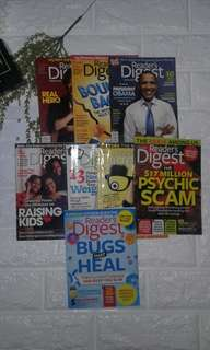 READER'S DIGEST MAGAZINES