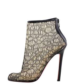 Authentic Louboutin Paola Lace Booties