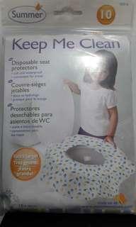Toilet seat protectors (Keep me clean)