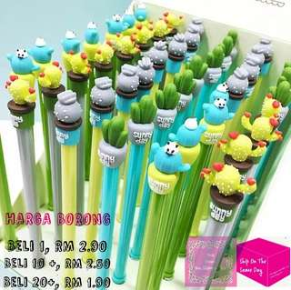 《Wholesale》 Cactus Pen Black Gel Ink