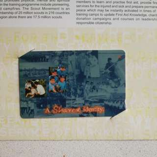 1997 $2 Phonecards Uniformed Groups Joint Fund Raising Project