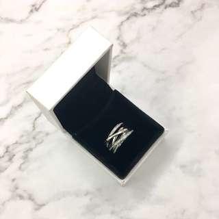 Pandora Entwining Silver Ring