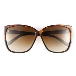 Tom Ford Lydia Sunglasses Havana Brown