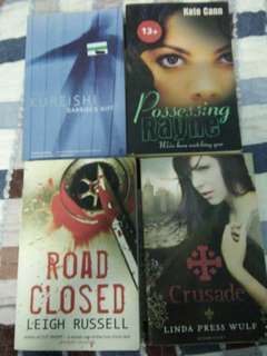Preloved Eng Novels