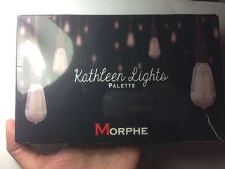 Preloved eyeshadow pallete Morphe x Kathleenlights