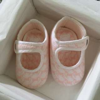 Brand New Hermes Baby Girl Booties With Box And Paper Bag [Authentic]